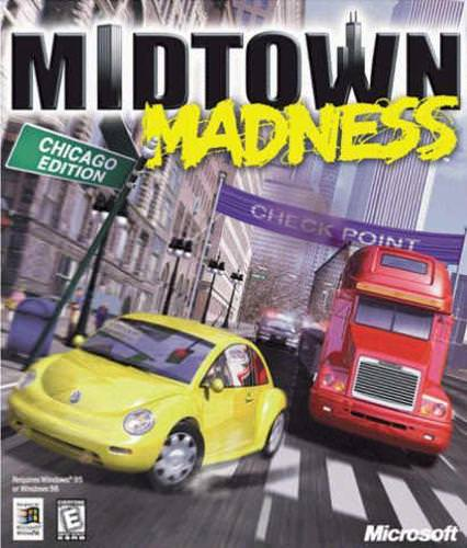 Midtown Madness 1 PC Game Free Download 89 M
