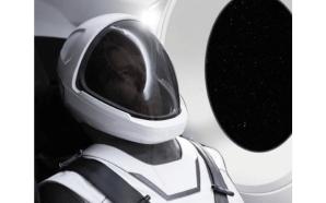 Elon Musk publica imagem do fato espacial da SpaceX