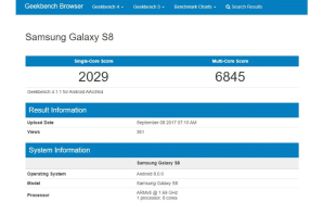 Samsung Galaxy S8 com Android Oreo já anda pelos sites…