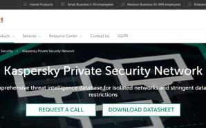 Kaspersky Lab apresenta nova geração da Kaspersky Private Security Network