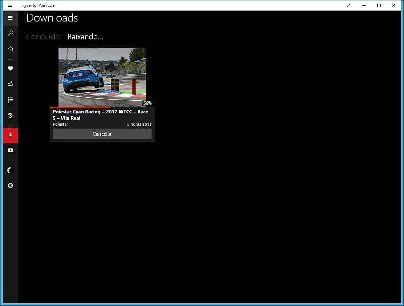 Passo 3 - Descarregar vídeo Youtube
