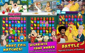 App do Dia – Family Guy Freakin Mobile Game