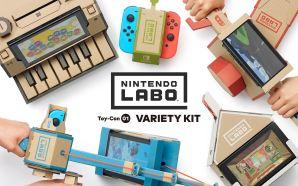 De casas a robôs: o Nintendo Labo deixa-o construir de…
