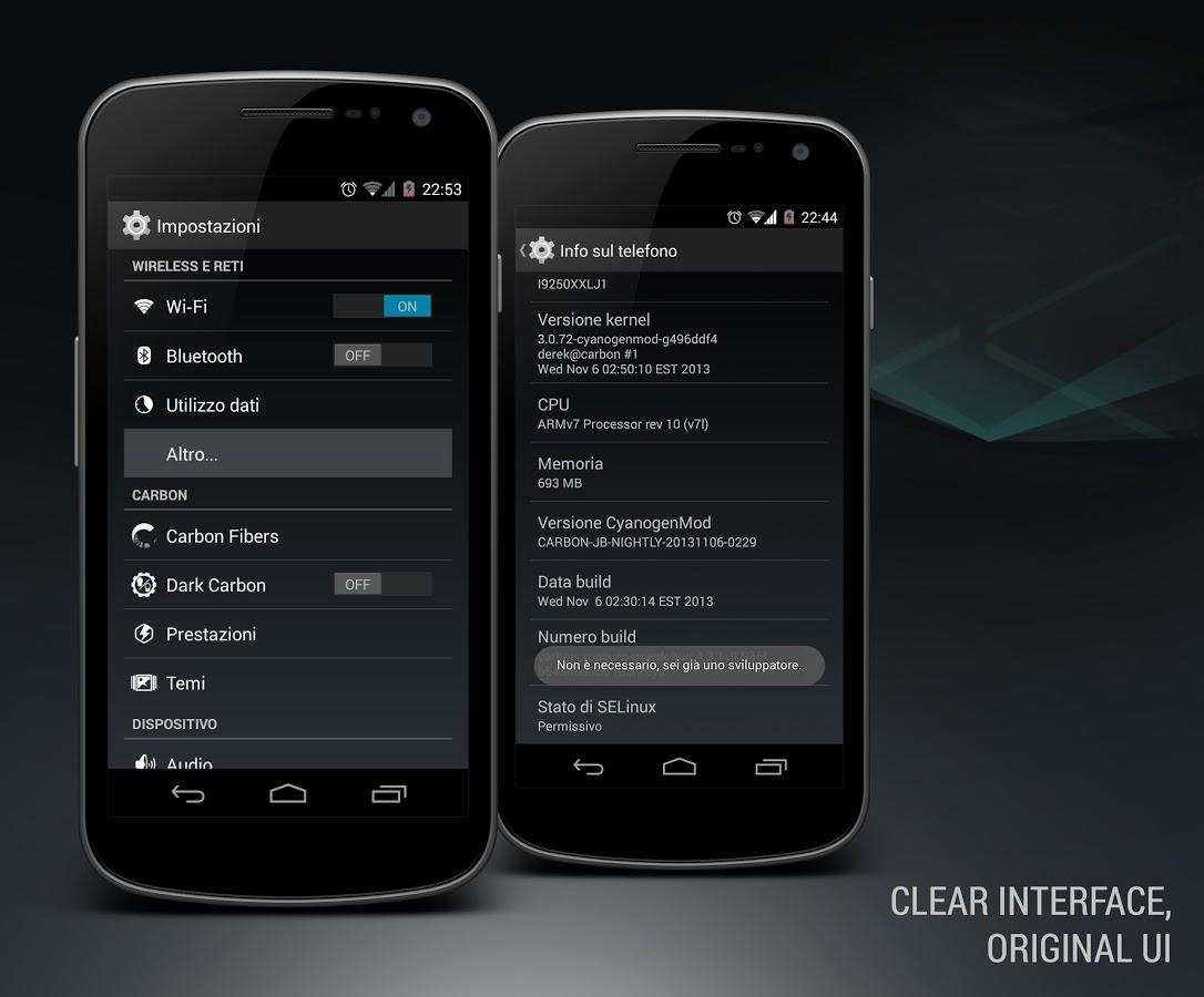 Android Kitkat 4.4 CM10 Theme 2