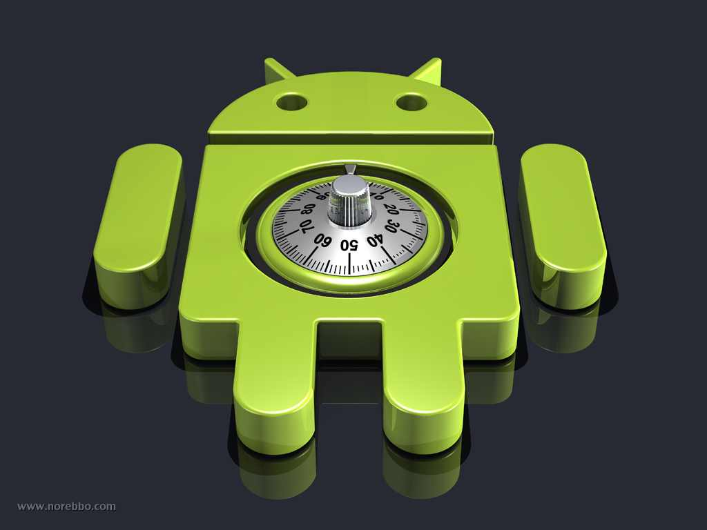 android logo combination lock