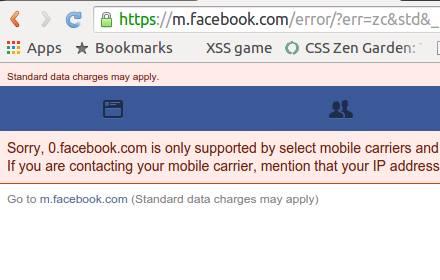 zero facebook