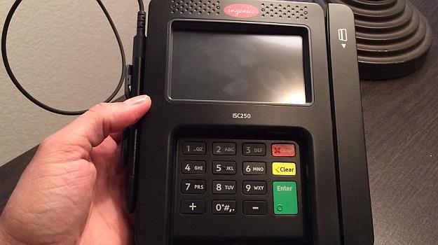 ingenico device credit card skimmer walmart 2