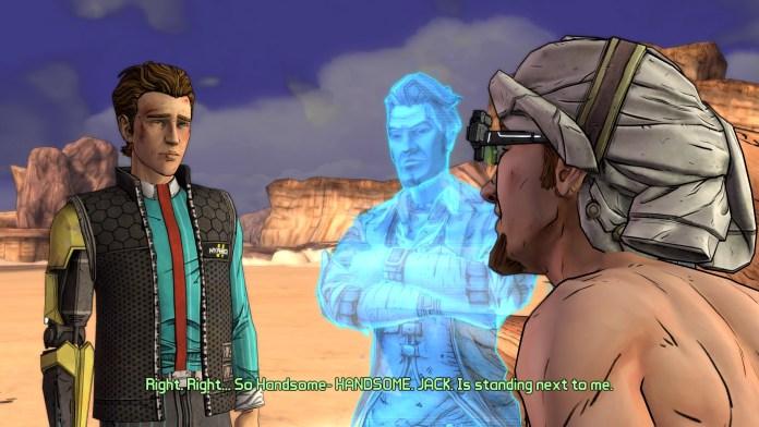 Handsome Jack presente mesmo em Tales from the Borderlands