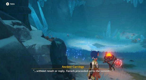 Genshin Impact Stone Tablet Location Snow Tomed Starsilver 3