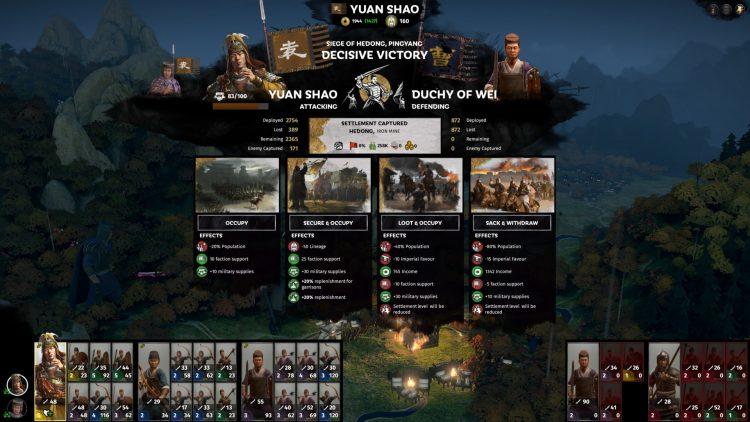 Total War Three Kingdoms Fates Dividido Yuan Shao Capitán Armory Guide 2