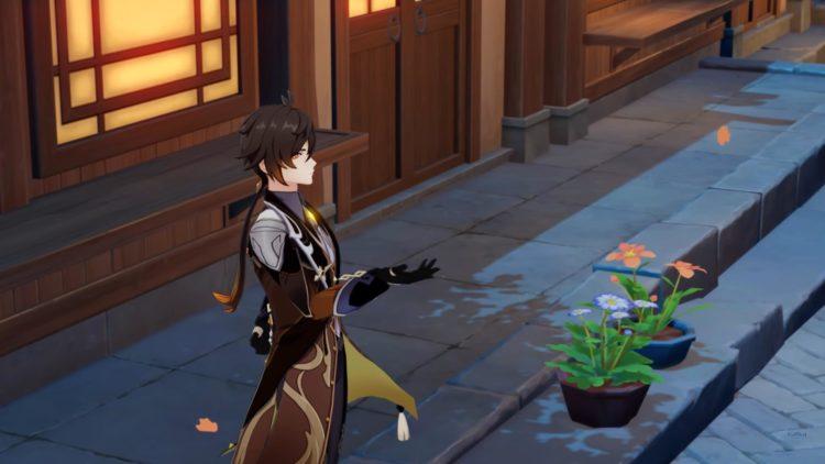 Genshin Impact Zhongli Guide Weapons Artifacts Talents 1a