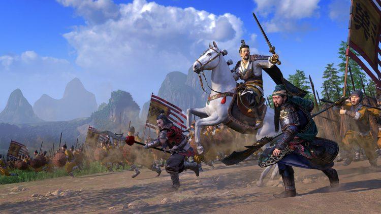 Nuevo montaje creativo del juego Total War Three Kingdoms