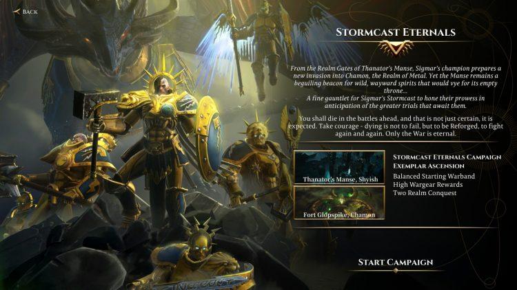 Warhammer Age Of Sigmar Storm Ground Guía para principiantes Consejos Campaña Stormcast Eternals