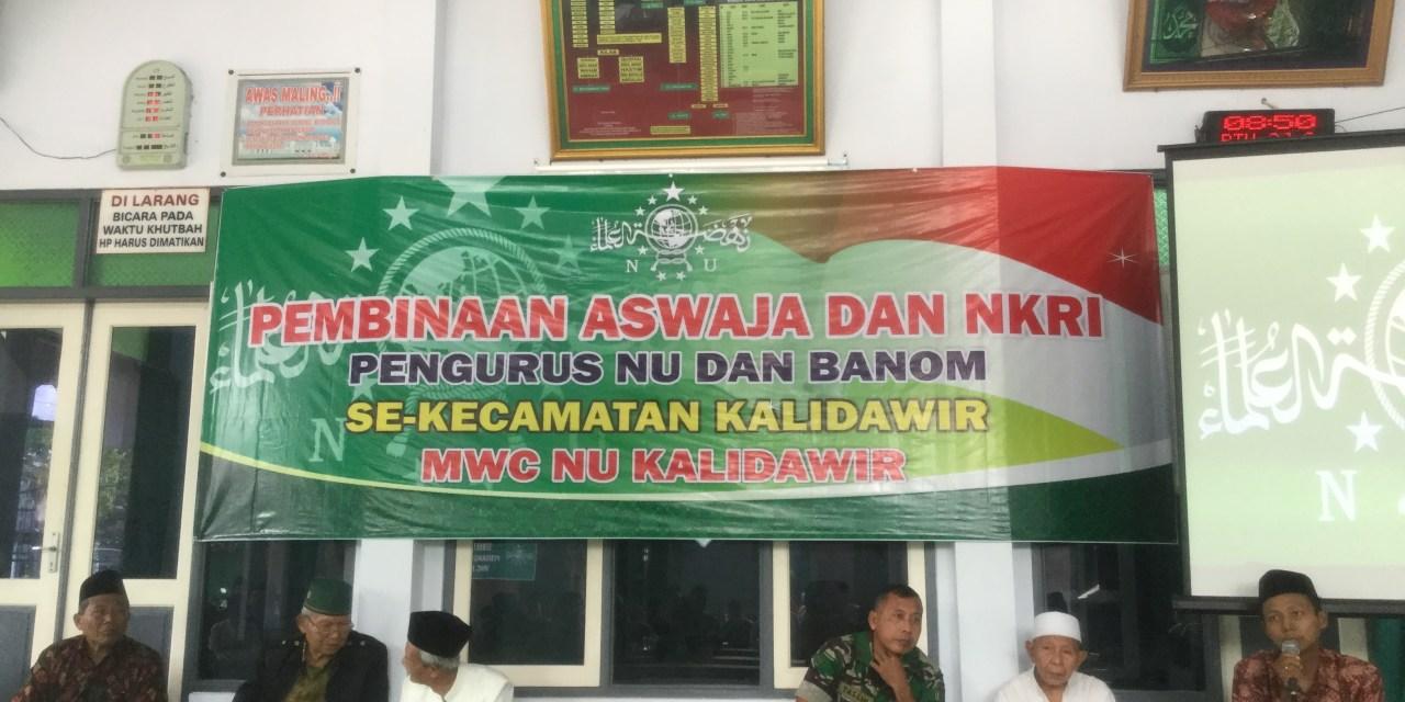 Khawatir, NU Kalidawir Bentengi Kader dan Warganya  (Pembinaan Aswaja dan NKRI Jilid 1)