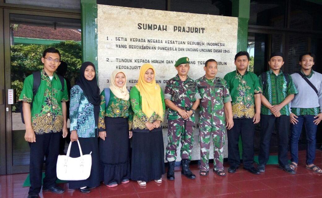 Audiensi PC IPNU IPPNU Tulungagung dengan Komandan Kodim 0807