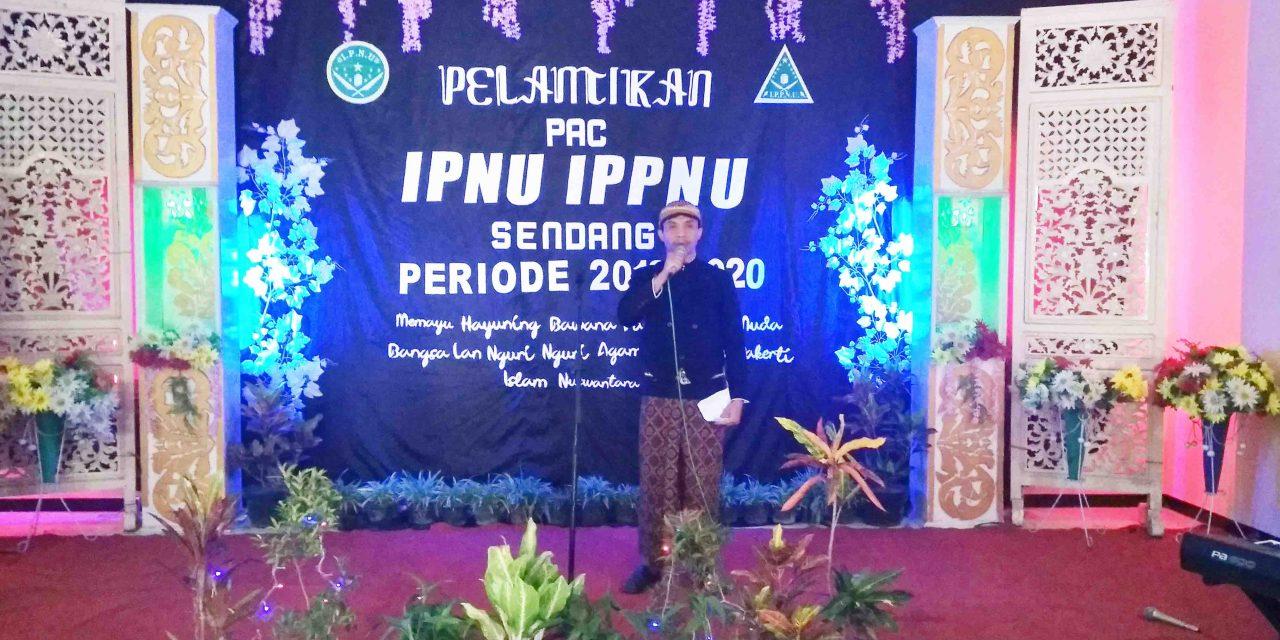 Nguri-Nguri Budaya Jawa Hadir dalam Pelantikan PAC IPNU IPPNU Sendang
