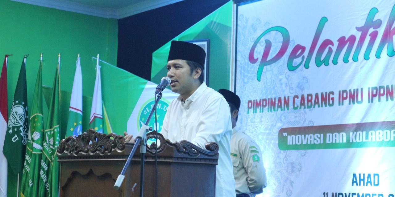 Emil Pada Pelantikan PC IPNU IPPNU Tulungagung: Kita Harus Multidimensi