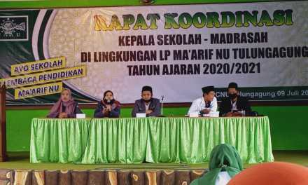 PC IPNU IPPNU Tulungagung Presentasikan Modul MOP 2020 di Hadapan Kepala Sekolah se-Kabupaten Tulungagung
