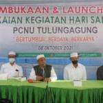 Guna Menyongsong Hari Santri Nasional 2021, PC NU Tulungagung Adakan Pembukaan dan Launching Rangkaian Kegiatan
