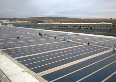 Coyote Ridge Corrections Center Photovoltaic System Repair