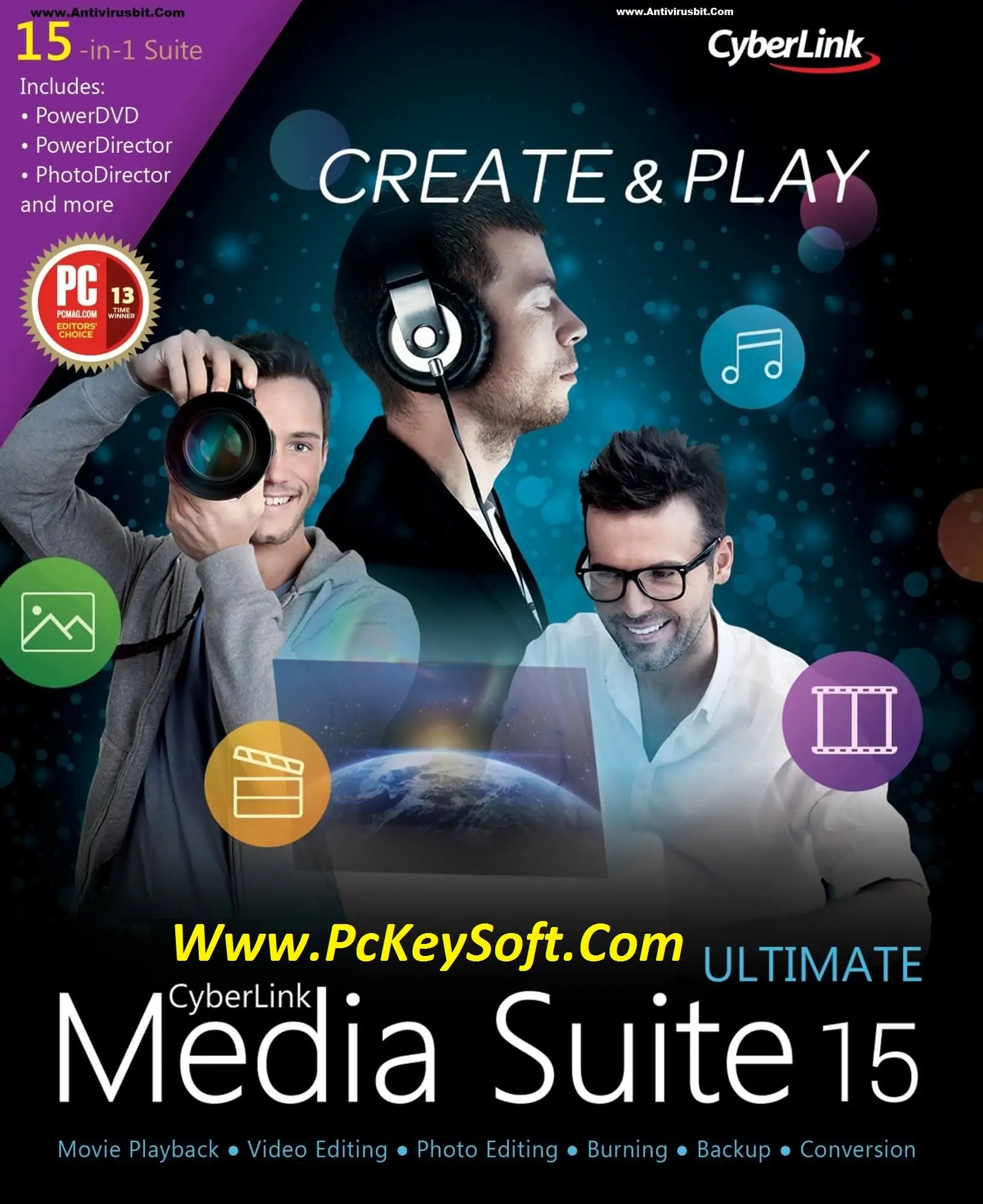 CyberLink Media Suite 15 Ultimate Crack Plus Keygen Free Download 2017