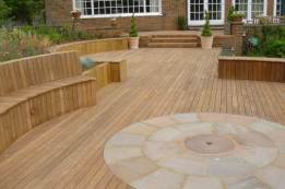 Timber decking Godalming