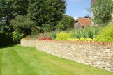 Stone wall in Guildford