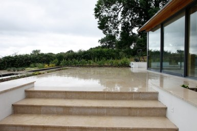 Steps and paving in Hampshire