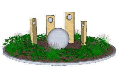 Hospital roundabout design