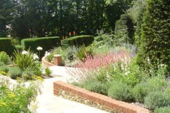 Garden planting in Surrey