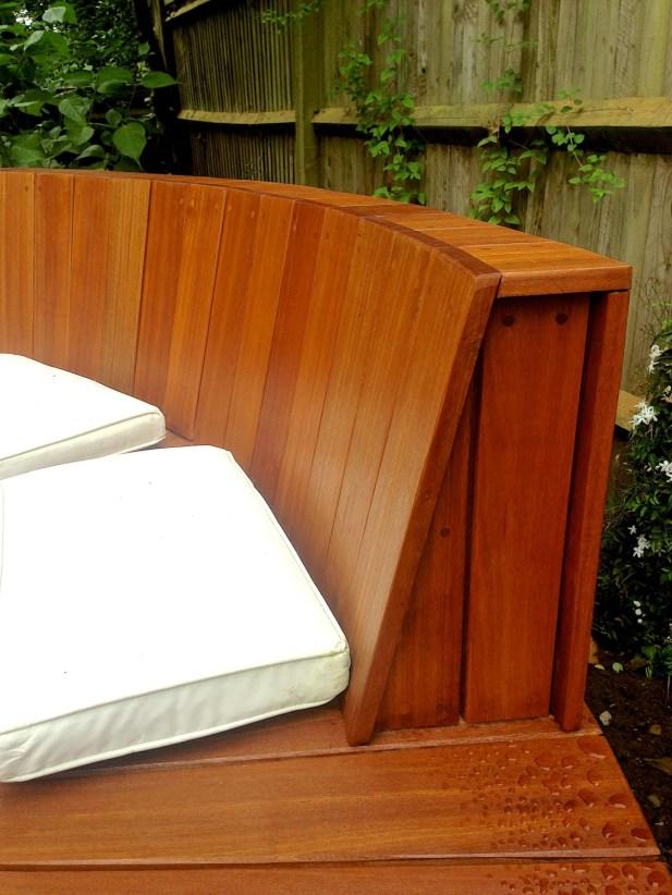 Timber decking design build