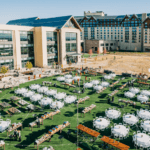 The Gaylord Rockies Resort & Convention Center in Aurora features three outdoor event lawns.