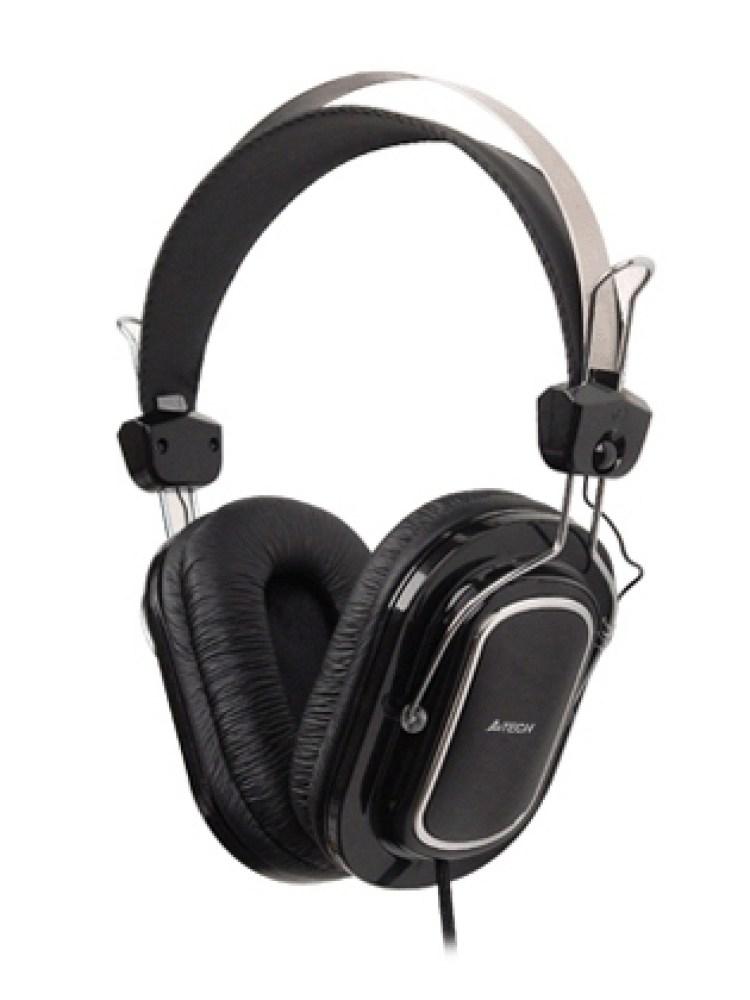 Casti A4TECH  Stereo. microfon + control volum pe fir, 'HS-200'
