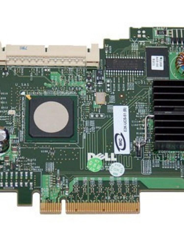 Controler RAID DELL PERC 5i/R; PCI-E 8x; 'CN0UN9391374079400SM, 0UN939'