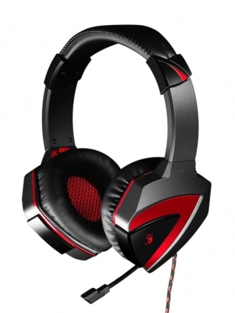 Casti A4TECH. Bloody gaming, microfon pe fir, control volum pe casca, 'G501'