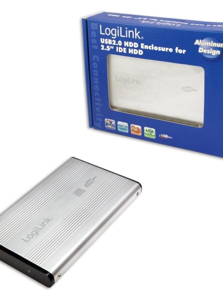 HDD Enclosure 2.5' IDE Logilink USB 2.0 (UA0040A)