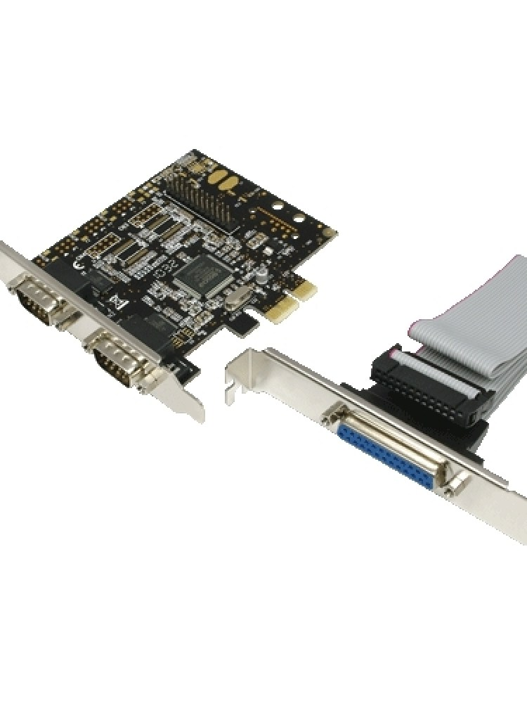 Card PCI-Express adaptor la 2 x SERIAL RS232 + 1 x PARALEL, Logilink 'PC0033'