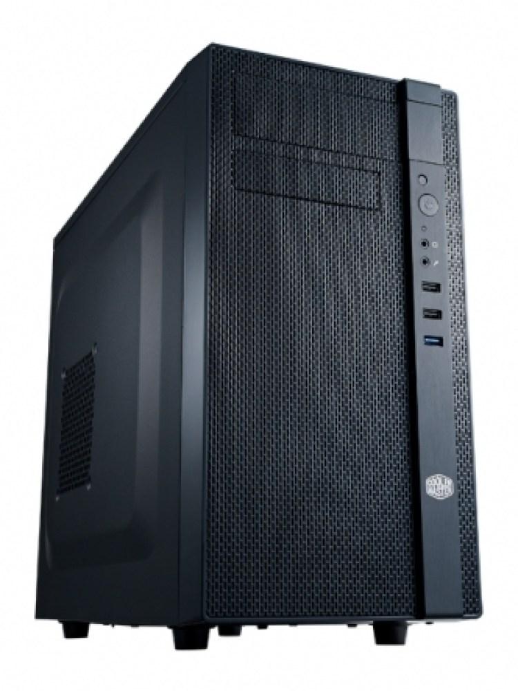 CARCASA COOLER MASTER  N200, mini-tower, mATX, 2* 120mm fan (inclus), I/O panel, black 'NSE-200-KKN1'