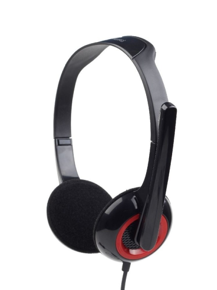 Casti cu microfon -  dimensiune medie, black Gembird 'MHS-002'