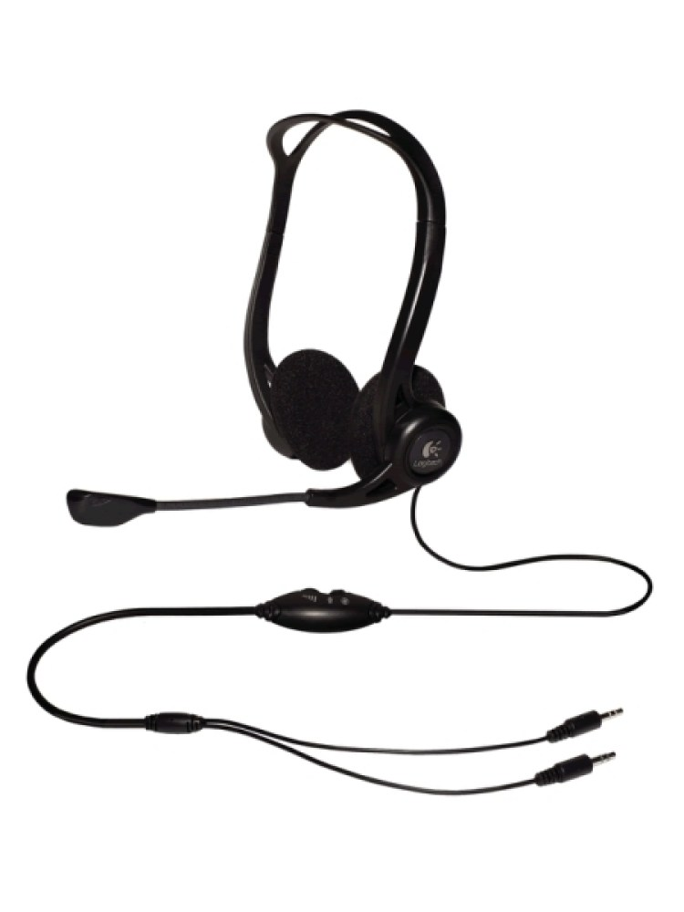 Casti Logitech   'PC 860' OEM Stereo Headset with Microphone  '981-000094'  (include timbru verde 0.01 lei)