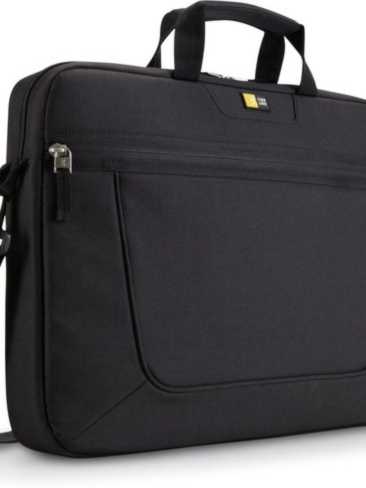 Geanta laptop 15.6' Case Logic, compartiment frontal de volum mare, buzunar frontal, poliester, black 'VNAI215'  674664001001; 'ACC-CAS0101003'
