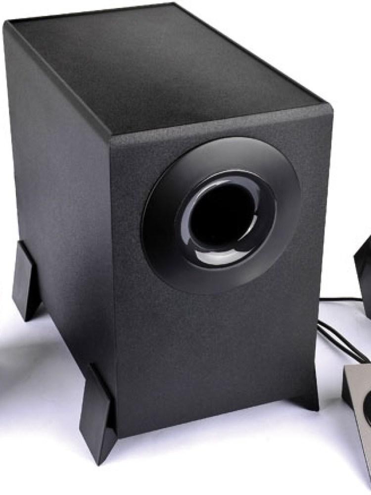 BOXE 2.1 EDIFIER, RMS:   8.5W (2Wx2 + 4.5W), telecomanda pe fir, black 'M1360' , BOXM1360  - 392150 M1360 (include timbru verde 1 leu)