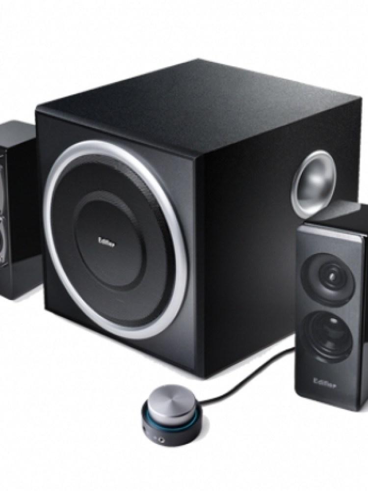 BOXE 2.1 EDIFIER, RMS:  72W (18Wx2 + 36W), black, telecomanda pe fir, iesire casti, optical input 'S330D' , BOXS330D (include timbru verde 1 leu)