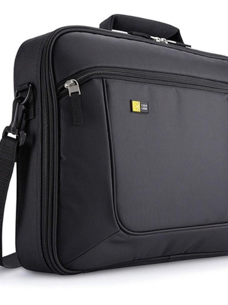 Geanta laptop 15.6' Case Logic, slim, buzunar interior 10.1', buzunar frontal, poliester, black 'ANC316'