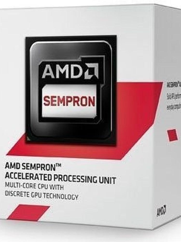 CPU AMD skt  AM1  SEMPRON   2650, 1.45GHz, 1MB cache , 25W  'SD2650JAHMBOX'