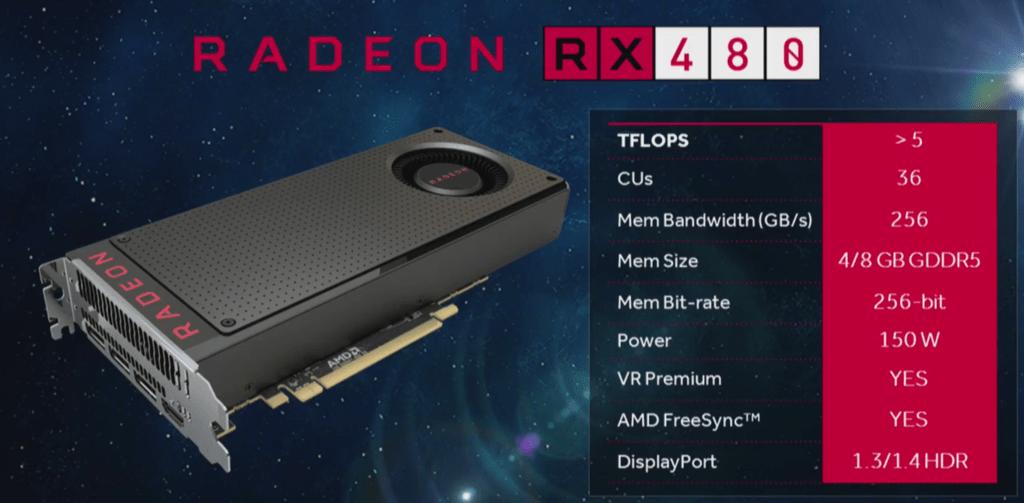 Radeon RX 480 2
