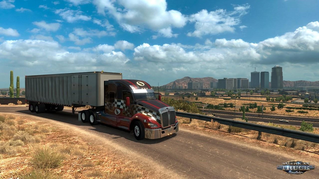 american truck simulator arizona