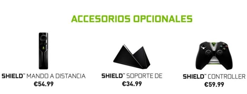 nvidia shield tv acesorios