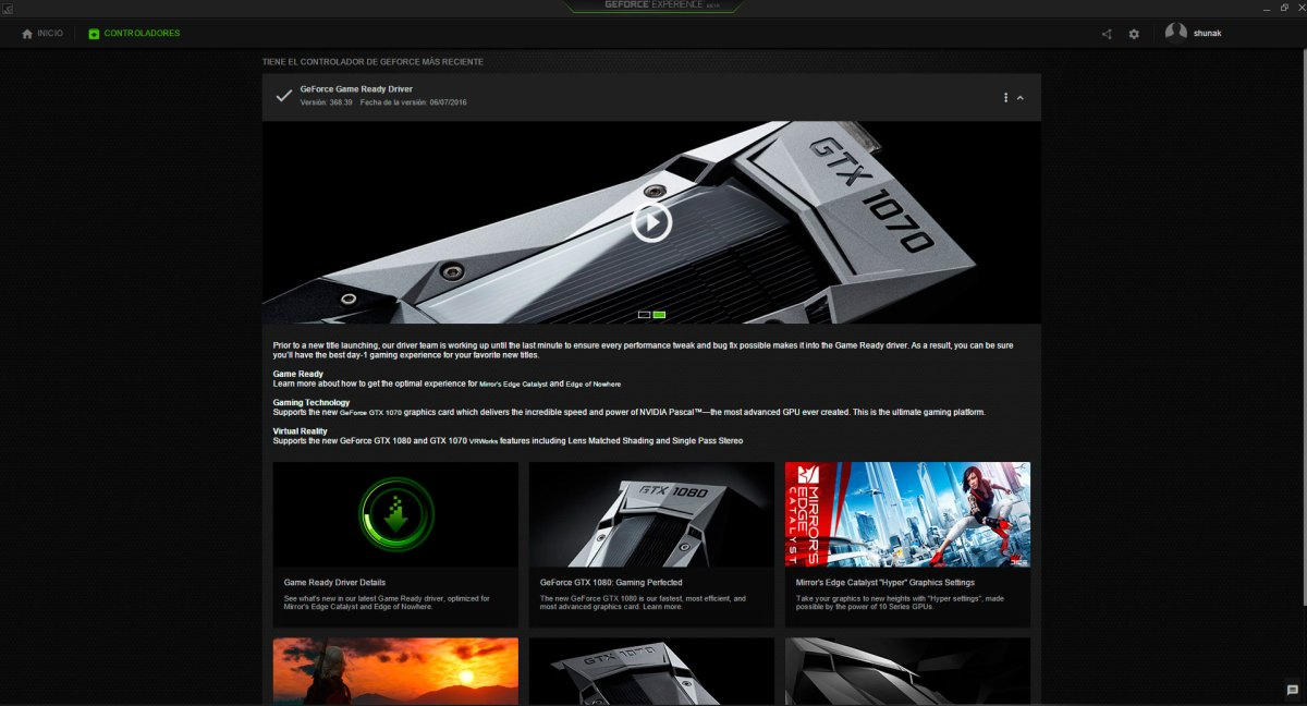 geforce experience 3.0 #2