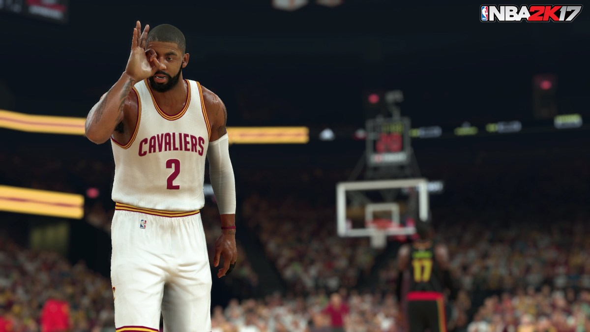 NBA 2K17 Kyrie Irving